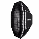 Octo Soft Box C/ Grid Phottix Solas 122cm Montura Bowens
