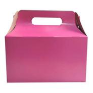 Cajita Feliz 2 De Colores X 250u Packaging Souvenir Cfz2