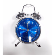 Reloj Despertador Campana Doble Campanilla Real