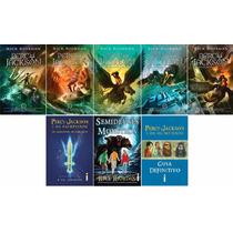 Coleção Percy Jackson & Os Olimpianos Nova Capa (8 Livros)