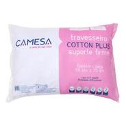 Travesseiro Cotton Plus 180 Fios  Suporte Firme Camesa