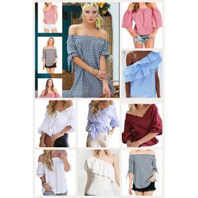 Blusas Sin Hombro Marcas Americanas A Precios De Outlet
