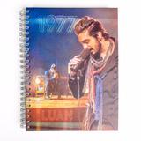 Caderno Ls Luan Santana 1977 10 Matérias
