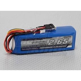 Bateria Lipo Para Rádio Turnigy 9x - 2650 Mah 3s - Turnigy