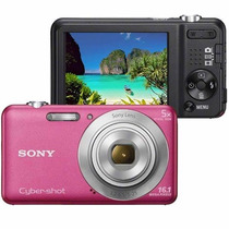 Câmera Digital Sony Cyber-shot Dsc-w710 Com 16.1 Mp, Z Rosa