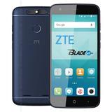 Zte Blade V8 Lite Dual Sim Nuevo Libre Color Azul Dual Sim