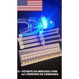 Kit Clareamento Dental Whiteness Gel 44% Clareador Luz+remi