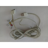 Cable Datos Ipod Usb Y Audio Y Video Original 4 Y 4s Etc