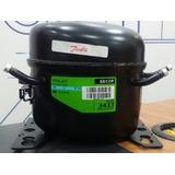 Compresor Nevera Danfoss 1/6 Gas R12 R134 110v