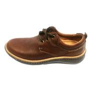 Zapato Cuero Hombre Liviano  Free Comfort Art 5594