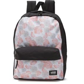 Mochila Vans Backpack Realm Rebel Blossom Original Grande