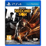 Sony - Juego Infamous Second Son Para Ps4