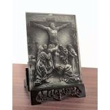 Jesus Raro Quadro 3d De Mesa Rico Detalhes Paixão De Cristo