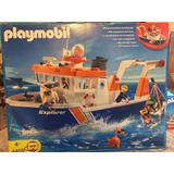 Playmobil 4469 Buque De Expedicion, Unico En Mercado Libre !