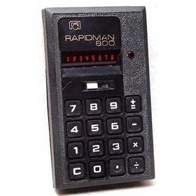 Calculadora Vintage De Coleção Rapidman 800 Canadá Ano 1972