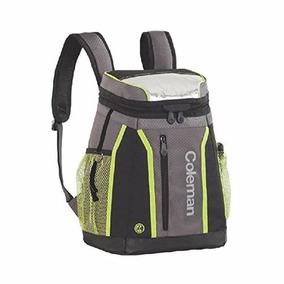 Backpack Hielera Mochila 18 Latas Verde Con Negro Coleman