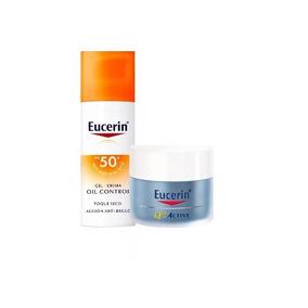 Combo Eucerin Protector Solar Fps50+crema Q10 Noche