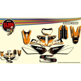 Kit Calcos Motomel Xmm 250 *ktm* Laminado 3m Estandard