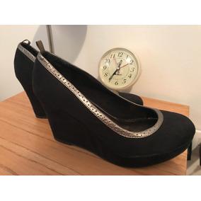 Zapatos Marca Gap Con Plataforma Y Taco Chino. Talle 39