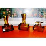 Antiguo Juego Toilette Perfumeros Art Decó Cristal Ámbar