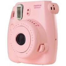 Camara Fuji Instax Mini 8 Rosa + Funda Original + 20 Fotos