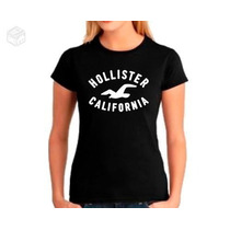 Camisa Baby Look Feminina Hollister - Promoção Mod:01