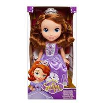 1627 Disney Princesas Boneca Princesinha Sofia Com 38cm
