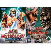 Age Of Mythology + Expansão Titans Em Português - Imediato