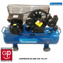 Compresor Flourish 100 Lts Doble Cabezal