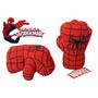 Par De Puños Guantes Spiderman, El Hombre Araña! Pequeños