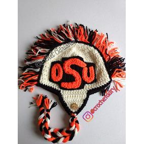 Gorro Osu Crochet Adultos