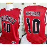 Camiseta Slam Dunk Shohoku Sakuragi 10 Todas Tallas + Envio