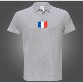 Camisa Da França Volei - Camisa Pólo Manga Curta Masculinas no ... d623e181fe166