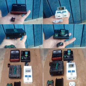 Miniaturas Consoles Antigos Preço P Unidade Fret 15 Acombina