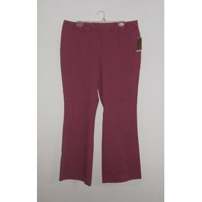 Merona Lindo Pantalón Rosa Oscuro Strech Talla 18