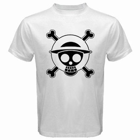 One Piece Remera Luffy - Remeras y Musculosas Blanco en Mercado ... d7ccb63093e
