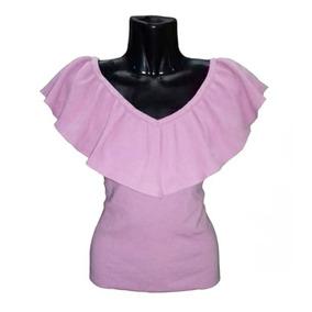 Blusa Polera Alaniz, Textura Hilo, Tallas S, M, L, $11990