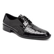 Zapatos Vestir Combinados Charol Autobrillo Hombre Importado