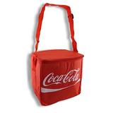 Rojo Coca-cola Paquete De 12 Bolsas De Mano Aislado Más Frí