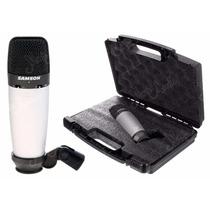 Samson Co3 Micrófono Condenser Multipatrón