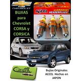 Bujias Chevrolet Corsa Y Corsica Original Accel Japonesas