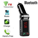 Generico Kit Cargador Usb Y Transmisor Fm Bc06 Microfono Hf