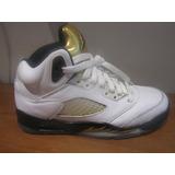 Originales Air Jordan Retro 5 Olympic Gold 23.5 Cm N23