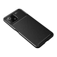 Funda  Xiaomi Mi 11 Lite Textura Fibra Carbono Cruzerlite