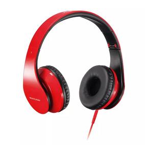 Fone De Ouvido Multilaser Com Microfone Para Celular P2