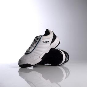 Zapatillas Topper Modelo Tenis Tie Break 3 Blanco/azul