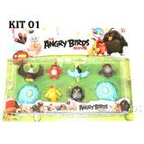 Coleção Angry Birds Bonecos Brinquedo Kit Angrybirds Mod 01
