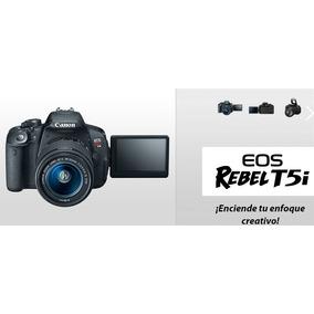Canon T5i Video Full Hd En Caja + Lente 18-55