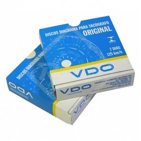 Disco De Tacografo Vdo Semanal 7d 125km 14025005f Original