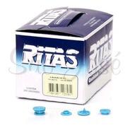 10 Caixa Botao De Pressão Plastico Ritas,com 200 Unid. Nº 12